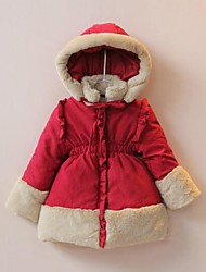 Cute Santa Fairy Wadded Jacket Kids Christmas Costume