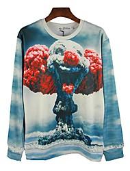 2014 refroidir tout le match t-shirt imprimé floral des hommes durian