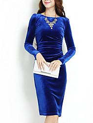 MeichangWomen's New European Fashion Slim Dress