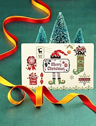 novos cartões de Natal