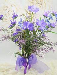 Free-form Pastoral style  Bridal Wedding Bouquet