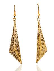 Earring Drop Earrings Jewelry Women Gold 2pcs Gold