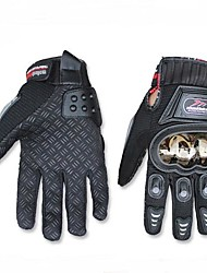 MADBIKE™ Winter Warm Windproof Protective Full Finger Racing Bike Metal Stainless Steel Glove Motorcycle Gloves