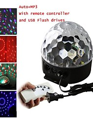 lt-906876 de color rgb llevado digital cristal mágico proyector láser de bola (proyector 240v.1xlaser)