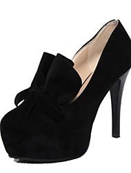 zapatos de las mujeres de las bombas del dedo del pie zapatos de tacón de aguja ronda más colores disponibles