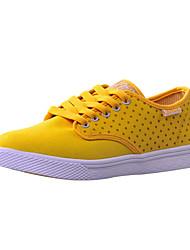 Zapatos de mujer ( Amarillo/Rosado/Blanco Lienzo
