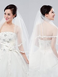 2015 New Arrivals Wedding Apparel Wedding Accessories Ivory  Bride Veil 1.5 Meters Long Handmade Wedding Veils BR6181001