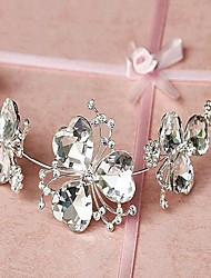Women's Crystal/Alloy Headpiece - Wedding Headbands