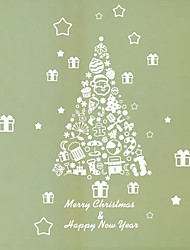 Wall Stickers Wall Decals, Christmas Gift Tree Home Decoration Murals PVC Wall Stickers