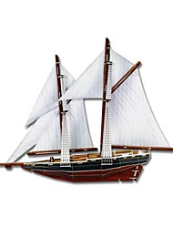 Develop Thinking Skills DIY 3D Paper Jigsaw Puzzle - Bluenose Ship (80PCS)