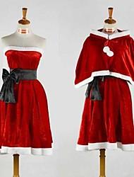 geinspireerd door Vocaloid Gumi Video Spel Cosplay Kostuums Cosplay Kostuums Patchwork  Rood Kleding / Shawl / Riem