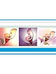 DIY Wall Art Wall Decor ,Flowers and Plants Style Fabric 3D DIY Diamond Painting Wall Decor Set of 1