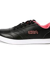 Men's Skateboarding Shoes Leatherette Black/White