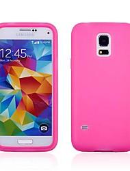 df® Flip klaren, weichen dünnen TPU Silikon-Ganzkörper-Fall für Samsung-Galaxie s5 Mini (verschiedene Farben)