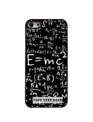 caso de telefone personalizado - fórmula caso design de metal para iPhone 5 / 5s