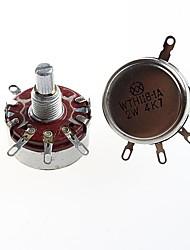 regazo wth118 1a2w de alta calidad 4K7 potenciómetro potenciómetro de carbono