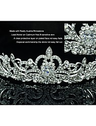Women's/Flower Girl's Rhinestone Headpiece Tiaras