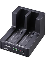 "maiwo 2.5 ""/3.5"" USB3.0 2bay SATA HDD docking station duplicatore con clone"
