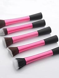 5pcs pincéis de maquiagem profissional definida tornar-se ferramenta kits de escova