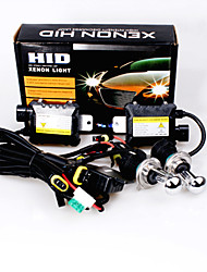 12V 55W H4 Hid Xenon High / Low Conversion Kit 30000K