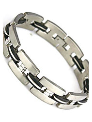 Fashion  Charm Wrap Bangle Wristband 304 Stainless Steel Men's Bracelet Christmas Gifts