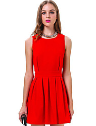 Juciy Women's Elegant Sleeveless Dress