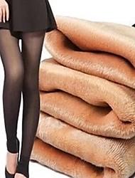 cachemire épais des femmes ne soit pas inversé neuf points leggings