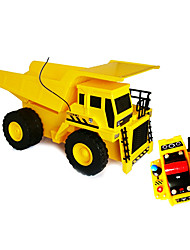 Goldlok 2367-07 Large Size RC Car Electric Remote Control Mechanical Engineering Dump Truck Toy Car with Light Sound