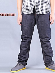 Men's Jeans , Casual Pure Cotton/Denim
