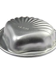 Aluminum Alloy Shell Shaped Cake Mold