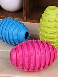 Grenade Shaped Rubber Chew Toys for Pet Dogs(Random Colour)