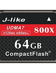 J-Like® CompactFlash Card  64GB Memory Card 800X
