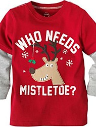 Red Reindeer Who Needs Mistletoe Boy's Christmas Costume
