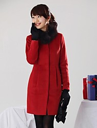 Women's Fur Collar Coat