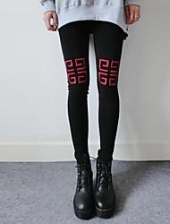 Women's Embroidery Slim Leggings(More Colors)
