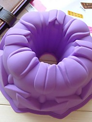 anjo molde do bolo oco de molde geléia gelo chocolate, silicone 21,8 × 21,8 × 8 cm (8,6 × 8,6 × 3,1 polegadas)