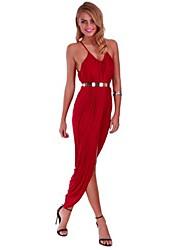 Women's Sexy Deep V Neck Dress