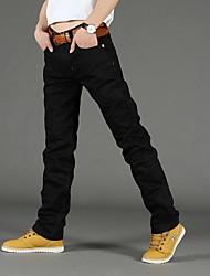 Herrenmode gerade Jeans