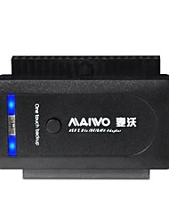 "maiwo k130u2is usb 2.0 hdd adapter met super snelheid 2,5 ""/ 3,5"" sata / ide"