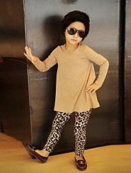 Girl's Fashion Leopard Print Leggings