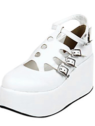 PU Leather  8CM  Platform Punk Lolita Shoes