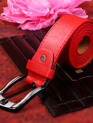 Red PU Belt