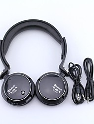 tx608 Bluetooth 3.0 sobre headphone ouvido com microfone para telefone inteligente / pc
