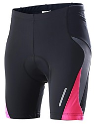 Outto Cycling Padded Shorts Women's Bike Shorts Padded Shorts/Chamois Breathable Quick Dry Anatomic Design 3D Pad Spandex Cycling/Bike