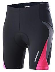 FUORI A® Pantaloncini imbottiti da ciclismo Per donna Traspirante / Asciugatura rapida / Design anatomico / Pad 3D BiciclettaPantaloncini