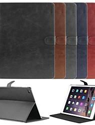 Enkay alta qualidade auto sono e acordar projetou o caso de proteção para ar ipad 2 (cores sortidas)