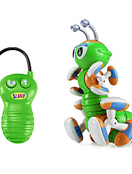 RC Toys Remote Small Robot Remote-Controlled Ants Crawling Toy Music Lights