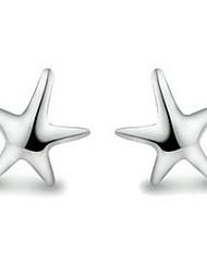 Q-милые моды милые серебряные серьги