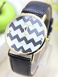 Gen causual Modestreifenmuster Uhren