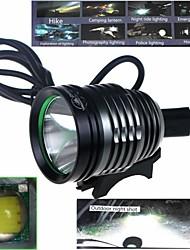 ZHISHUNJIA ZYW-08 Waterproof 3-Mode 1xCree XM-L2 U2 High Power Bike Lamp (900lm,USB 5V,Black+Gray)